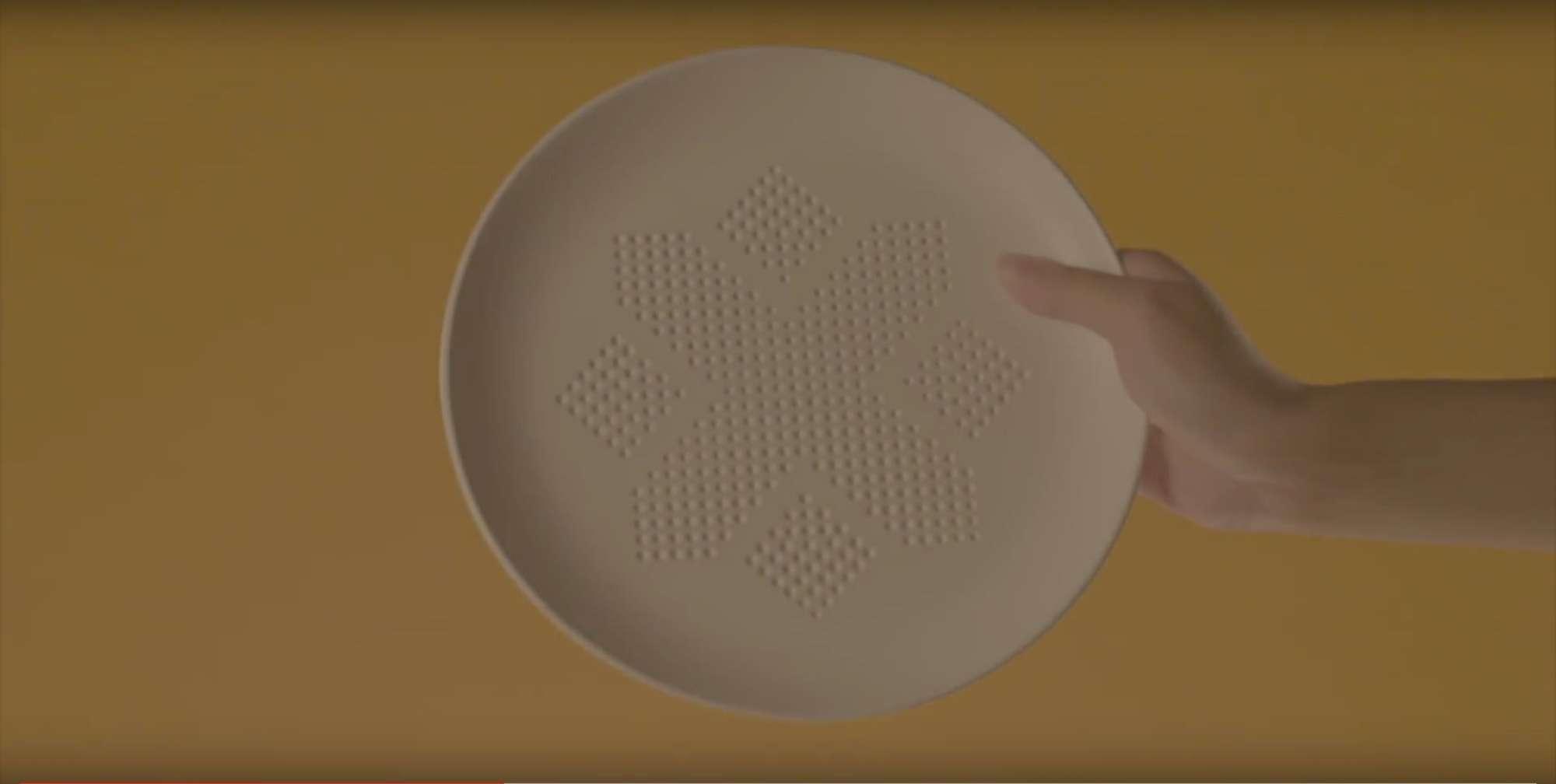 Absorbeplate, piatto che assorbe i grassi del cibo